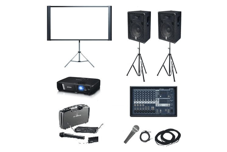 Projector and Projector Screen Accessories For Hire | Projector Hire Melbourne