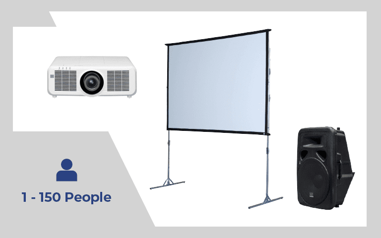 Rear Projection Package #2