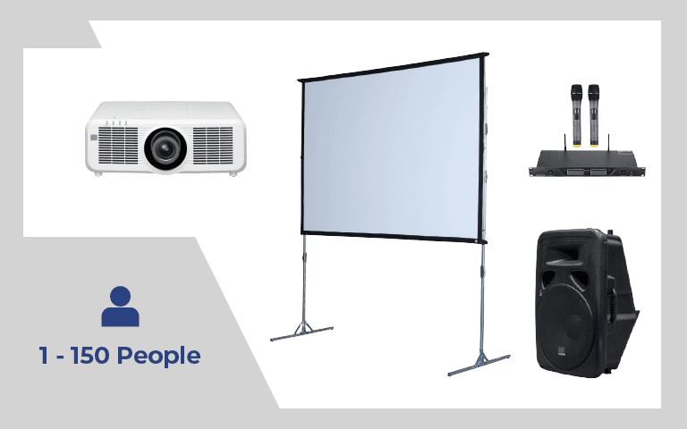Rear Projection Package #3